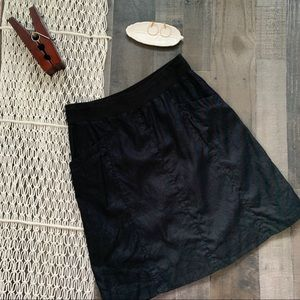 Eileen Fisher Organic Cotton Gathered Skirt